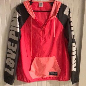 Victoria's Secret Pink rain jacket